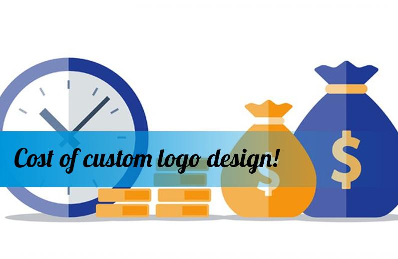 Cost of custom logo design!