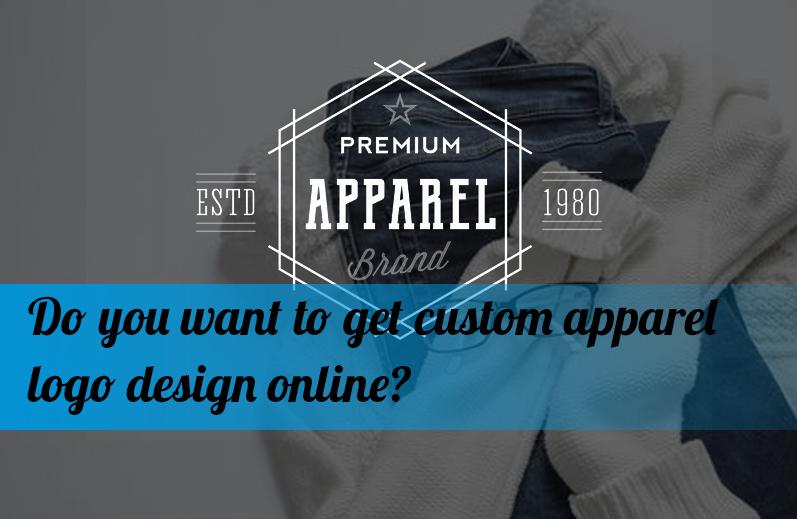 Do you want to get custom apparel logo design online?