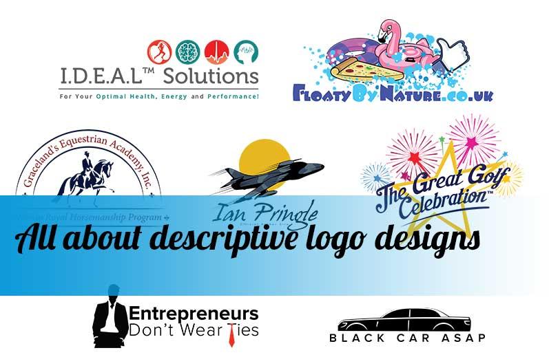 All about descriptive logo designs